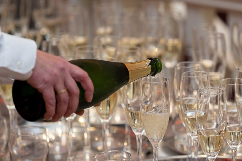 Champagne Reception