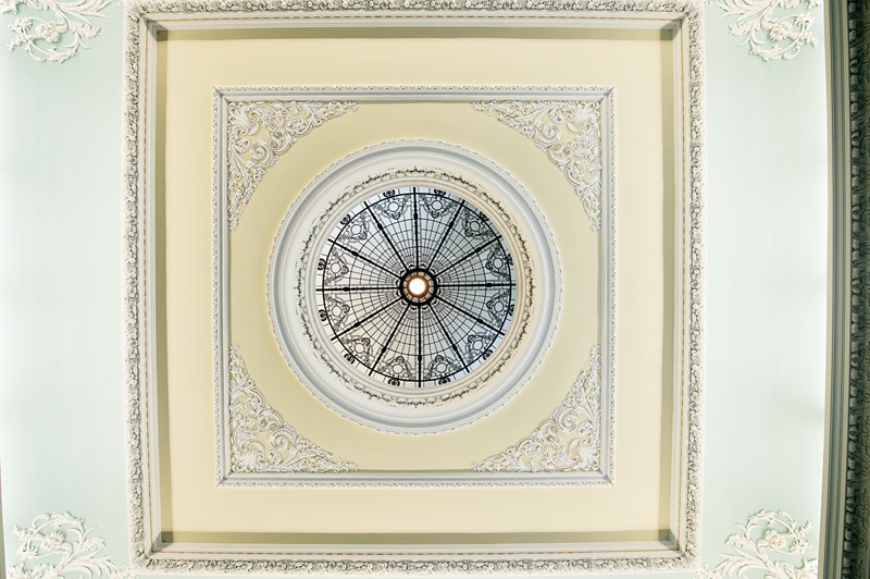 Playfair Hall Ceiling