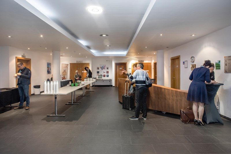 The Quincentenary Conference Centre Reception